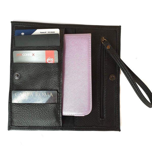 Luana. Leather wallets Italian Handmade
