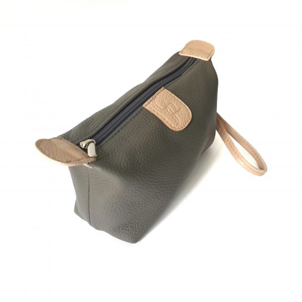 Miss - Leather pouch bag Handmade Made in Italy