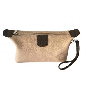 Miss - Pochette in pelle fatta a mano Made in Italy