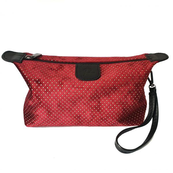 Miss. Red Velvet pouch bag Handmade Italian