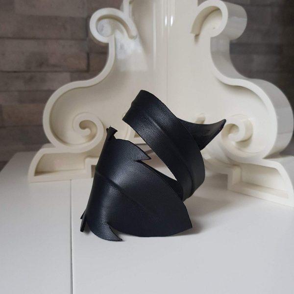 Eva. Leather bracelet - Ganza Roma - Made in Italy