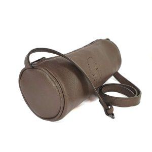 Rollè. Leather Cylinder Bag