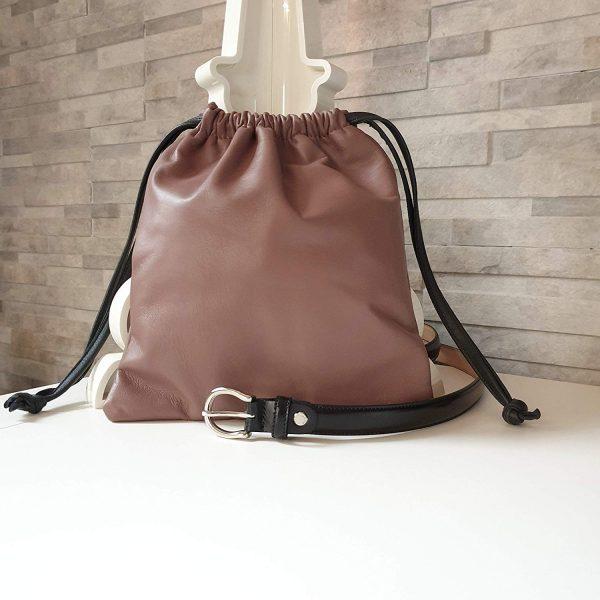 Sasà. Leather fanny pack