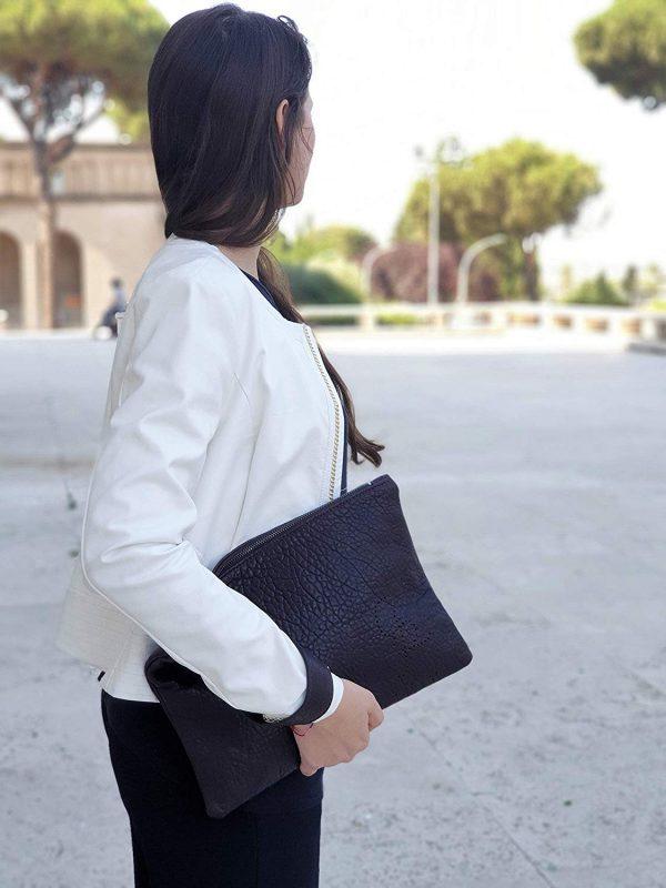 Chiara. Lederhandtasche Made in Italy