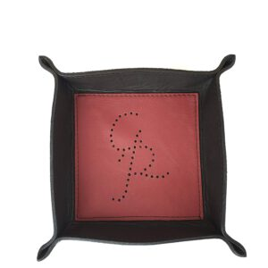 Lillo - Leather valet tray - Ganza Roma