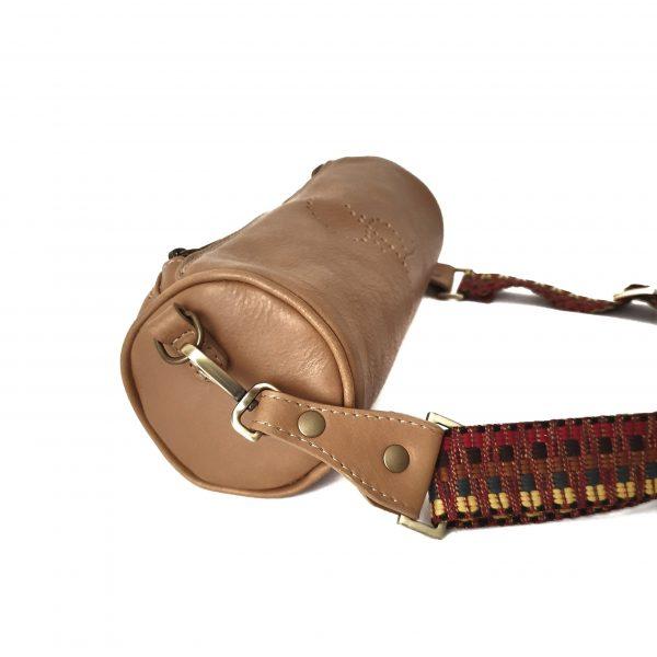 Spillo. Lederzylindertasche - Made in Italy