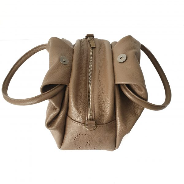 Handbag with double handles - Ninetta - Italian Handmade
