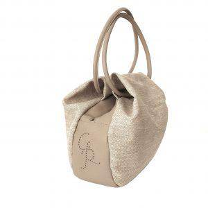 Handtasche mit Doppelgriffen - Nina - Italian Handmade