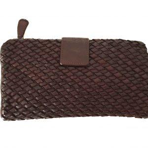 Cesare - Brieftaschen Ledergewebte Handwerkskunst