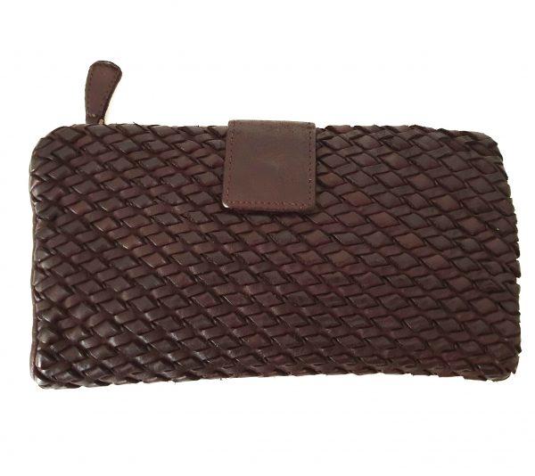 Cesare - Wallets Leather Woven Craftsmanship