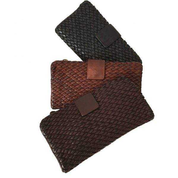 Cesare - Wallets Leather Woven Craftsmanship