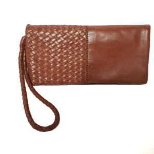 Carlo - Wallets Leather Woven Handmade Made in Italy