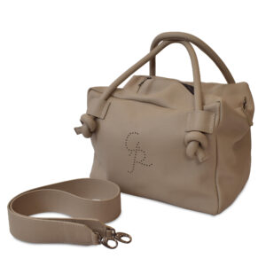 Bowling Taschen für Damen Umhängetasche aus Leder Italienische Handgemachte