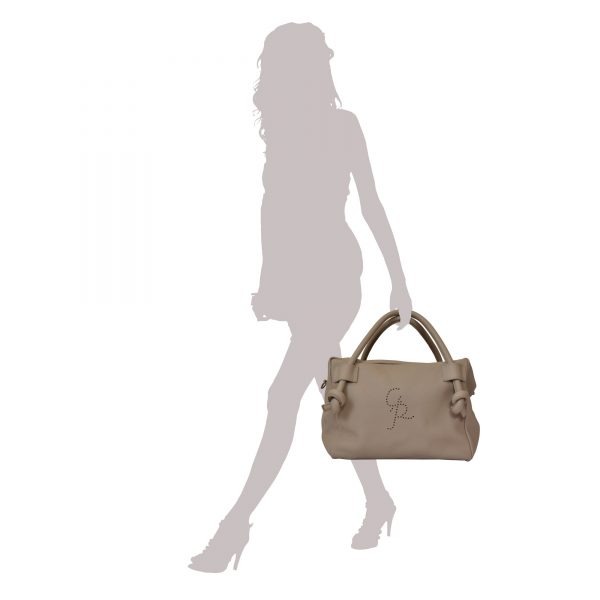 Top Handles Bag Woman with shoulder strap in Genuine Leather - Isotta Handmade in Italy