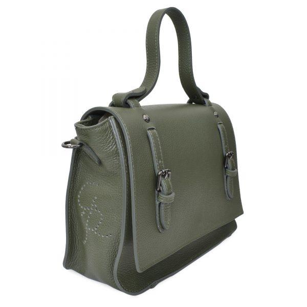 Irene - Leather Satchel bags for women Cross body - Handmade in Italy