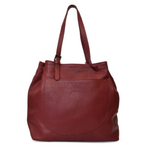 Claudia Leather Shopper Tote bag for Women Italian Handmade