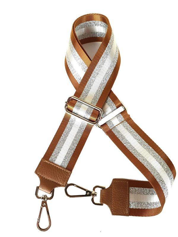 Universal Laminated Shoulder Strap for Adjustable Women's Bag - Giulia.bag