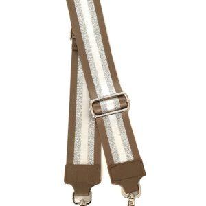 Tracolla universale in tessuto laminato per borsa regolabile da donna - Giulia